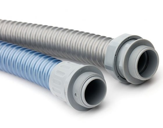 Highly Flexible Protective Plastic Conduit