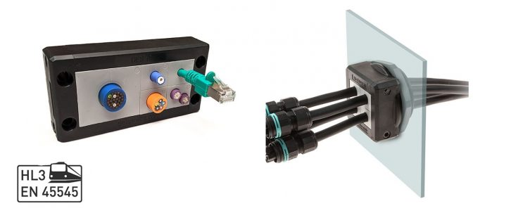 Cable Entry Systems for Rail Applications