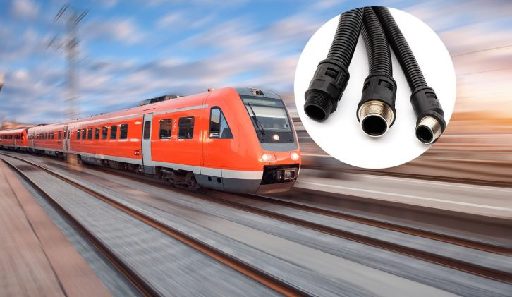 Protective Conduit for Rail
